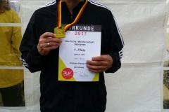 Czeslaw wurde mit einer neuen Jahresbestleistung von 12.31 sec über 100m Deutscher Meister der Altersklasse M55.