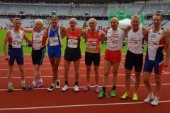 Die schnellsten Europäer in der Altersklasse M65