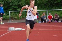zi02: Jost-Ole Fasel kam im Hochsprung der MJ U18 mit 1,60m auf den zweiten Platz.
