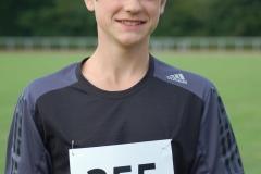 zi05: Lasse Willenbrock gewann in der Altersklasse M14 alle Wettbewerbe der Sportveranstaltung.