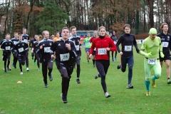 Start zum gemischten Lauf über 3230m, an dem sich u.a. auch eine Fußballmannschaft beteiligte.