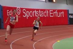 Melinda Mester bei ihrem Lauf über die 200m