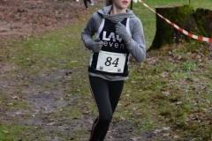 Maria Cordes von der LAV Zeven sicherte sich den Sieg über die 860m der Kinder W11.