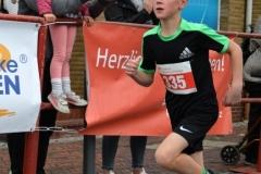 Timo Dreemann (SC Wittkopsbostel, U10, 9:52 min) gewann mit großem Abstand den 2,2km-Schnupperlauf.