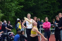Paula de Boer (LG Flensburg) gewann am Sonntag den Diskus-Wettbewerb der WJ U20 mit 40,27m und das Kugelstoßen mit 12,43m. Am Samstag kam sie mit 12,25m im Kugelstoßen auf den zweiten Platz.