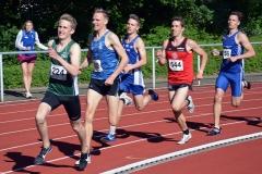 Miguel Daberkow (Nr. 224, Männer, TSG Bergedorf) war mit 1:55,93 min der schnellste Läufer über die 800m.