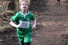 Tjark Plat lief im Rennen der Kinder M08 über die 700m in 2:49 auf den zweiten Platz.