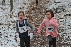Solja Brandt (li.) und Christin Eickhoff - hier eine Archivaufnahme aus einem Rennen Anfang Februar – lieferten sich auch diesmal einen spannenden Wettkampf.