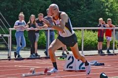 Helmut Meier (M65) gehört seit vielen Jahren zu Deutschlands schnellsten Seniorensprintern.