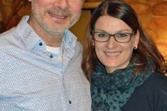 In diesem Jahr nahmen Olaf Michaelis und Stefanie Lenz die Ehrungen vor.
