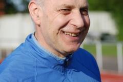 Czeslaw Pradzynski (M55) gewann souverän die Meistertitel über 100m und 200m.