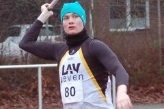 Der LAV-Athlet Niels Michaelis erzielte im Speerwurf der Männer eine Weite von 43,13m.