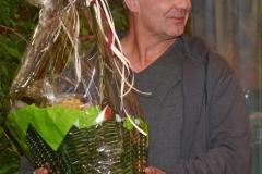 Für sein Engagement erhielt Bernd Meyer einen Präsentkorb.