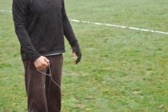 Christoph Muche von der LAV Zeven trat erst im Hammerwurf und dann später im Speerwurf der Männer an.