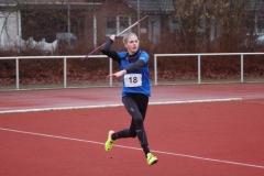Mit 44,34m wurde Marie Dehning von der LG Celle-Land Jugendmeisterin im Speerwurf der weiblichen Jugend U18.
