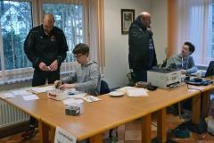 Das Wettkampfbüro war erneut im Vereinsheim des Heeslinger SC untergebracht, wo auch für das leibliche Wohl gesorgt wurde.