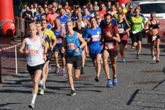 Im 10km-Lauf liefen Jakob Wilkens (Hamburg Running, Nr. 243) und Ivett Wichmann (TV Scheeßel, Nr. 234) die schnellsten Zeiten.