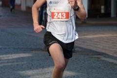 Im 10km-Lauf lief Jakob Wilkens (Hamburg Running) mit 34:13 min die schnellste Zeit.