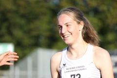 Nele Müller sicherte sich Oldenburg zwei Titel als Landesmeisterin und verbesserte zudem ihren eigenen Kreisrekord über 100m.