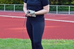 Hanne Jo Rötting verbesserte den von ihr gehaltenen Kreisrekord im Hammerwurf und kam bei den Landesmeisterschaften auf den zweiten Platz.