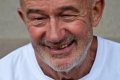 03: Helmut Meier (Archivfoto) belegt mit einer Zeit von 27,06 sec. über 200 Meter zur Zeit Platz eins in der Deutschen Bestenliste seiner Altersklasse.