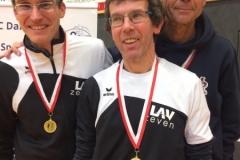 Marcel Frank, Marco Miltzlaff, Carsten Ahlfeld bei den Landesmeisterschaften Cross