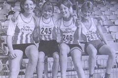 Merle Zabel, Mandy Zobel, Catharina Willim, Carina Köster