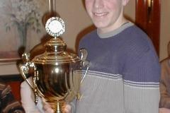 Kirsten Bolm Pokal 2000 für Timm Müller