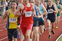 zi07: Auch 1500m-Läufe standen am ersten Veranstaltungstag auf dem Programm.