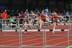 Im 100m-Hürden-Lauf der Frauen hatte im Finale Vanessa Hammerschmidt (Nr. 52, LG Nord Berlin), welche im vergangenen Jahr bei den Deutschen Meisterschaften den Sieg in der U20 errang, mit 13,77 sec die schnellste Zeit.