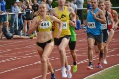 Lea Meyer (VfL Löningen) sicherte sich im gemischten 1500m-Wettbewerb mit 4:22,76 min den Sieg in der Wertung der Frauen.