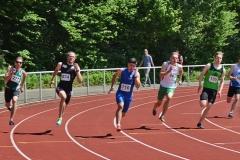 Das A-Finale der Männer über 200m gewann Fabian Linne (SV Werder Bremen) in 21,67 sec.