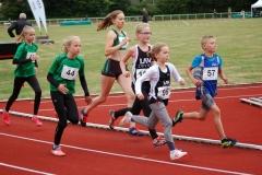 Gemischter 800m-Lauf