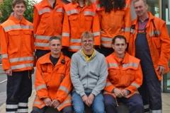 Tatkräftige Unterstützung gab es von der Feuerwehr Wistedt