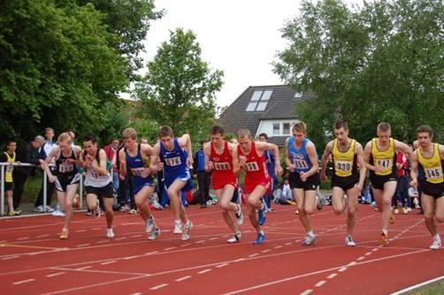 Start 1500m Lauf mJB