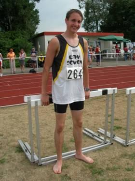 Mit Christian Hatwig, Jahrgang 1991, startet bei diesen Landesmeisterschaften in der Halle nur ein Zevener Teilnehmer.