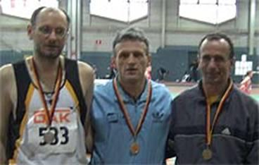 Nach der Siegerehrung: v.l.n.r. Joachim Hickisch, Arno Küppers und Mario Renner