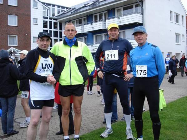 v.l.n.r.:Stefan Brandhorst, Jörg Herrmann, Oliver Prieß und Bernd Schulz