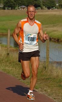 Jörg Herrmann wollte dieses Jahres mindestens an zehn Marathonläufen teilnehmen. Eine Marke, die er bereits erreicht hat. Hier eine Aufnahme vom Hasetal Marathon in Löningen im Juni.