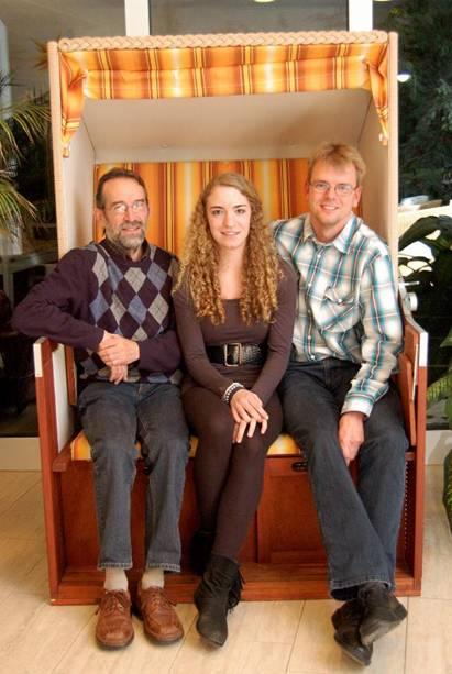 Wurden für ihre Leistungen besonders geehrt: Detlef Wickmann (li.), Tami Gerken und Jens Dohrmann.