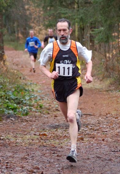 Zi04: Detlef Wickmann gewann den Lauf der Senioren M60 über 2550 m in 9:31 min.