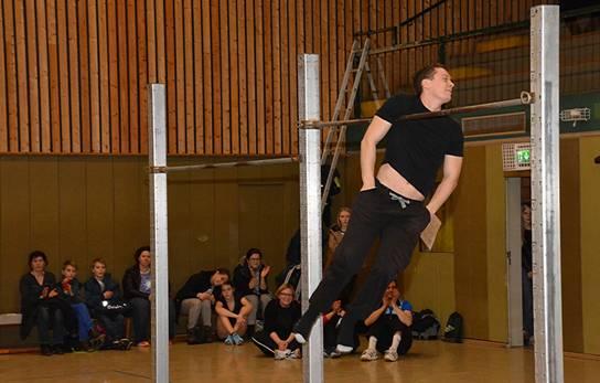 """zi06: Den Vorführungen von """"Barsiders""""-Mitbegründer Alexander Semrau war das jahrelange Training anzumerken."""