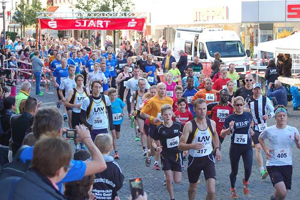 Start zum 5km Jedermann-Lauf