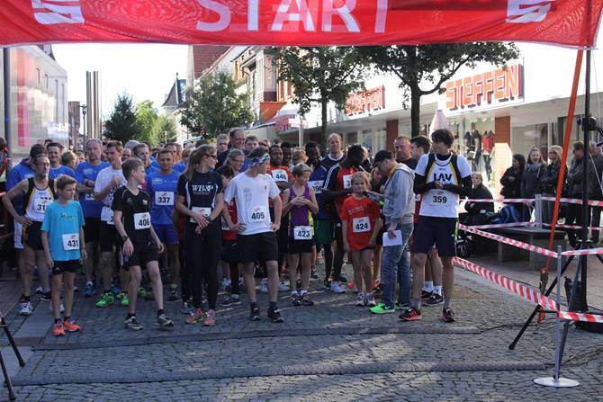Erster Start 5km Stadtwerke-Jedermannlauf
