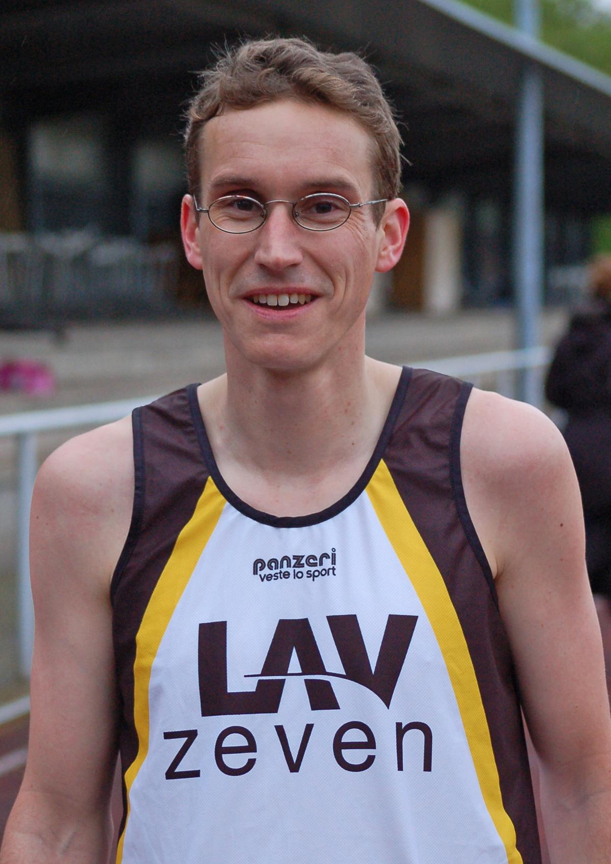 02: Für Marcel Frank sind 800m eher eine Sprintstrecke.