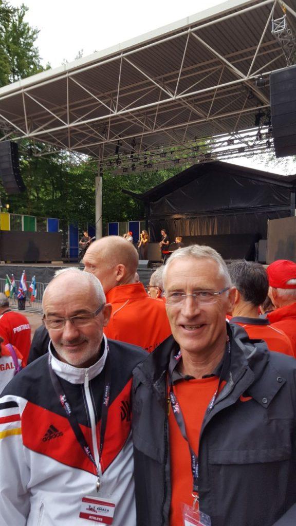 Eröffnungsfeier, hier mit Frank Kindermann aus Wolfenbüttel