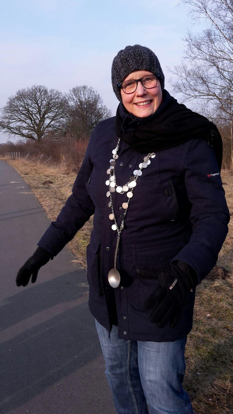 Die neue Kohlkönigin Birgit Bredehöft