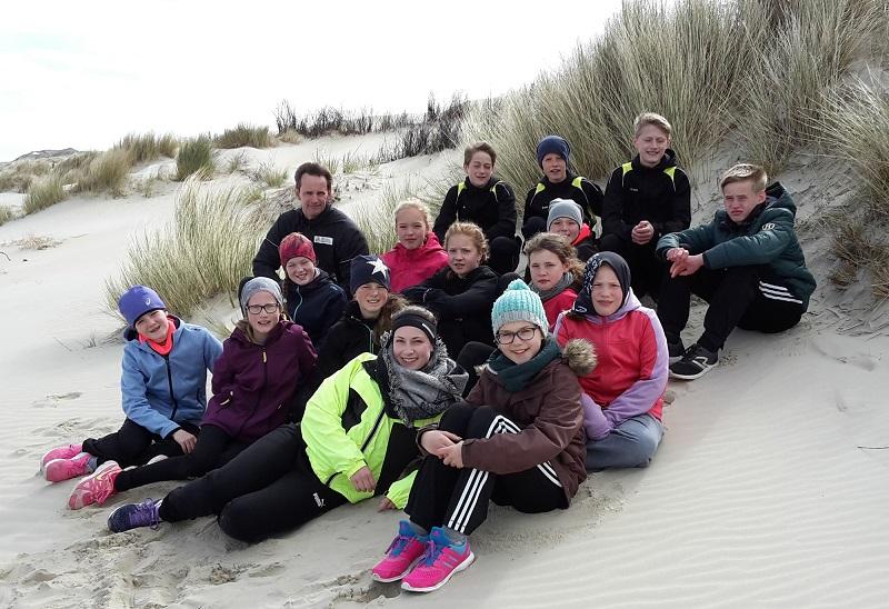 14 junge Aktive der LAV Zeven nahmen am diesjährigen Trainingslager auf der Nordseeinsel Borkum teil.