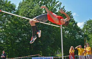 Luca Meinke stellte 2017 mit übersprungenen 2,15m einen neuen Pfingstsportfestrekord der männlichen Jugend U20 im Hochsprung auf.