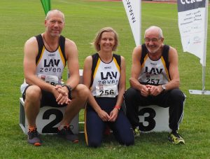 Das erfolgreiche LAV-Trio. (Foto Rita Meier)